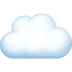 ☁️ cloud Emoji on Facebook Platform