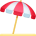 ⛱️ umbrella on ground Emoji on Facebook Platform