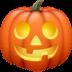 🎃 Calabaza Halloween Emoji en plataforma Facebook