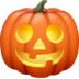 🎃 Citrouille d'Halloween Emoji sur la plateforme Facebook