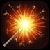 🎇 sparkler Emoji on Facebook Platform