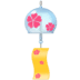 🎐 wind chime Emoji on Facebook Platform