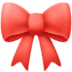 🎀 ribbon Emoji on Facebook Platform