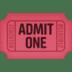 🎟️ admission tickets Emoji on Facebook Platform
