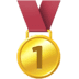 🥇 1st place medal Emoji on Facebook Platform