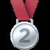 🥈 2nd place medal Emoji on Facebook Platform