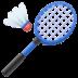 🏸 badminton Emoji on Facebook Platform