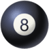 🎱 pool 8 ball Emoji on Facebook Platform