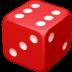 🎲 game die Emoji on Facebook Platform