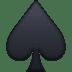 ♠️ spade suit Emoji on Facebook Platform