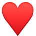 ♥️ heart suit Emoji on Facebook Platform