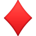 ♦️ diamond suit Emoji on Facebook Platform