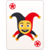 🃏 joker Emoji on Facebook Platform