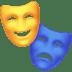 🎭 performing arts Emoji on Facebook Platform