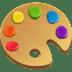 🎨 artist palette Emoji on Facebook Platform