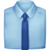 👔 necktie Emoji on Facebook Platform
