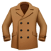 🧥 coat Emoji on Facebook Platform