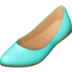 🥿 flat shoe Emoji on Facebook Platform