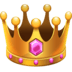 👑 crown Emoji on Facebook Platform
