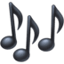 🎶 musical notes Emoji on Facebook Platform