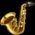 🎷 saxophone Emoji on Facebook Platform