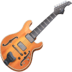 🎸 Guitar Emoji on Facebook Platform