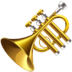 🎺 trumpet Emoji on Facebook Platform