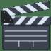 🎬 Clapper Board Emoji on Facebook Platform