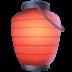 🏮 red paper lantern Emoji on Facebook Platform