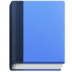 📘 blue book Emoji on Facebook Platform