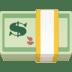 💵 Dollar Banknote Emoji on Facebook Platform