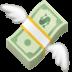 💸 money with wings Emoji on Facebook Platform