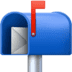 📬 open mailbox with raised flag Emoji on Facebook Platform