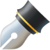 ✒️ black nib Emoji on Facebook Platform