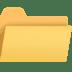 📂 open file folder Emoji on Facebook Platform