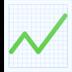 📈 chart increasing Emoji on Facebook Platform