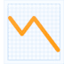 📉 chart decreasing Emoji on Facebook Platform