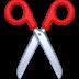 ✂️ scissors Emoji on Facebook Platform