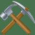 ⚒️ hammer and pick Emoji on Facebook Platform