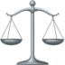 ⚖️ Balance Scale Emoji on Facebook Platform