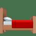 🛏️ bed Emoji on Facebook Platform