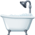 🛁 Bathtub Emoji on Facebook Platform