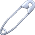 🧷 safety pin Emoji on Facebook Platform