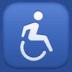 ♿ wheelchair symbol Emoji on Facebook Platform
