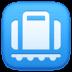 🛄 Baggage Claim Sign Emoji on Facebook Platform