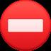 ⛔ no entry Emoji on Facebook Platform
