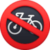 🚳 no bicycles Emoji on Facebook Platform