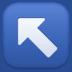 ↖️ up-left arrow Emoji on Facebook Platform