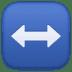 ↔️ left-right arrow Emoji on Facebook Platform