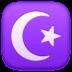 ☪️ star and crescent Emoji on Facebook Platform
